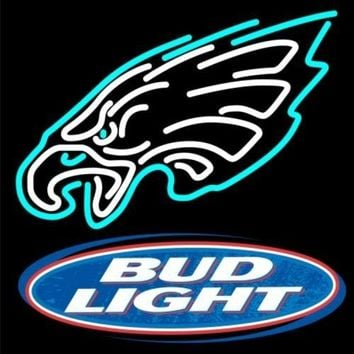 "Desung New 20""x16"" Sports Team PE B ud L ight Neon Sign (Multiple Sizes Available) Man Cave Sports Bar Pub Beer Glass Neon Lamp Light CX117"
