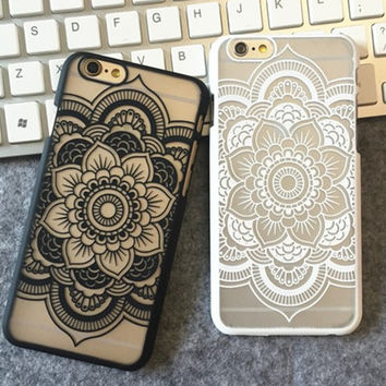 New Lace Floral iPhone 5 5s iPhone 6 6s Plus Case Cover Free Shipping