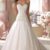 Organza Tulle Gown by David Tutera for Mon Cheri