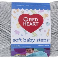 Red Heart Soft Baby Steps Yarn, Elephant