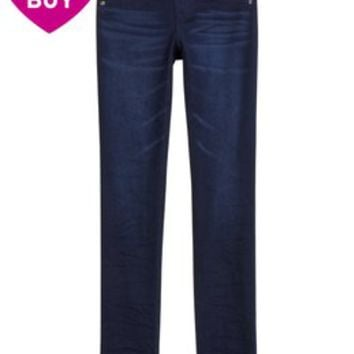 KNIT DENIM SUPER SKINNY JEANS | GIRLS $20 STYLES JEANS | SHOP JUSTICE