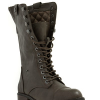 New BFF Faux Leather Lace-Up Boots GoJane.com