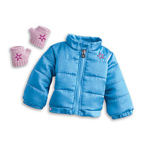 American Girl® Clothing: Frosty Fair Isle Set & Puffy Jacket
