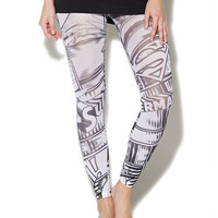 DC Comics Footless Tights | Wet Seal