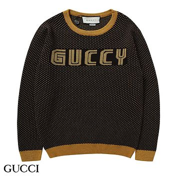 GUCCI Woman Men Fashion Knitwear Top Sweater Pullover