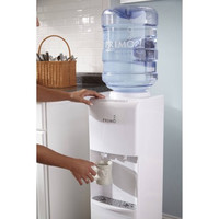 White Top Loading Hot / Cold Water Dispenser