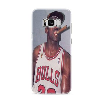 Michael Jordan Cigar Samsung Galaxy S8 | Galaxy S8 Plus case