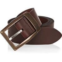 River Island MensDark brown belt