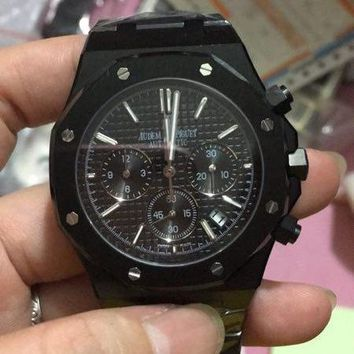 cc DCCK AP automatic chrono full black