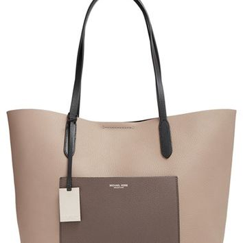 Michael Kors 'Eleanor' Grained Calfskin Leather Tote | Nordstrom