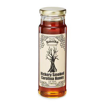 Hickory Smoked Honey | liquid smoke, flavored honey