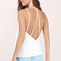 Make A Point Strappy Cami Top