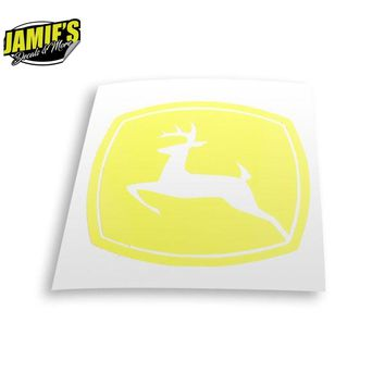 John Deer Decal - Four Sizes - Color Options