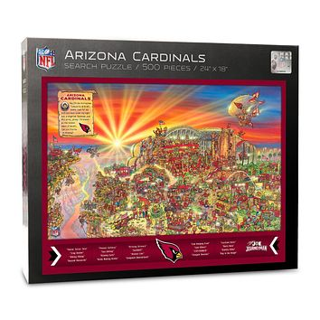 Arizona Cardinals Find Joe Journeyman 500-piece Puzzle