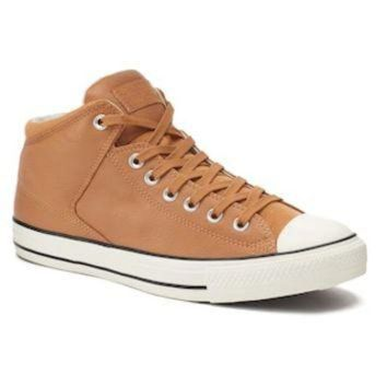 DCKL9 Men's Converse Chuck Taylor All Star High Street Men's Leather Sneakers | null