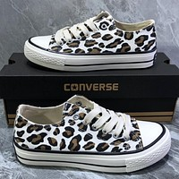 Converse  Camouflage graffiti canvas shoes