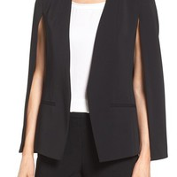 Kobi Halperin 'Perri' Open Front Blazer with Cape Sleeves | Nordstrom