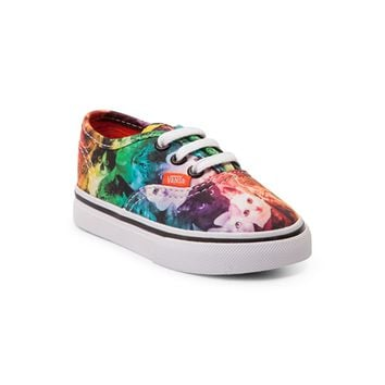 Toddler Vans Authentic Rainbow Kitty Skate Shoe