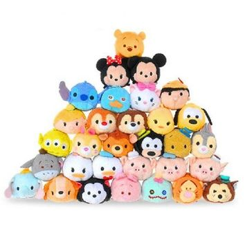 Tsum Tsum Mini Original Kawaii Cute Animal and Movie Character Dolls Toys for Girls Gift