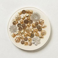Gilded Snowfall Coaster by Anthropologie White One Size House & Home