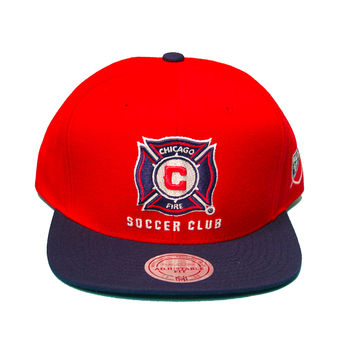 Mls Chicago Fire Xl 2T Snapback In Red