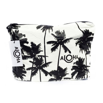 COCO PALMS 'MID-SIZE' POUCH