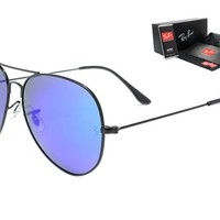 Ray-Ban sunglass AA Classic Aviator Sunglasses, Polarized, 100% UV protection [2974244918]