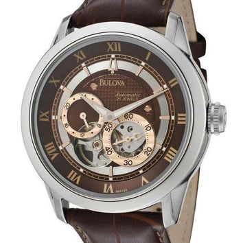 Bulova Automatic BVA Series Dual Aperture Dial 96A120 Mens Watch