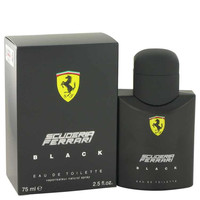 Ferrari Scuderia Black Cologne by Ferrari Eau De Toilette Spray