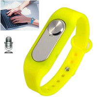 WR-06 Wearable Wristband 16GB Digital Voice Recorder Wrist Watch, One Button Long Time Recording