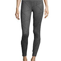 Under Armour - Printed Banded-Waist Leggings