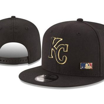 New Arrival New Era Black Cap MLB Baseball Fitted Hat-9