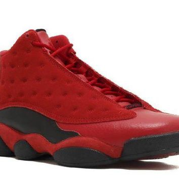 VONEEJ Ready Stock Nike Air Jordan 13 Retro Sngl Dy Single Day Gym Red Black Basketball Sport Shoes