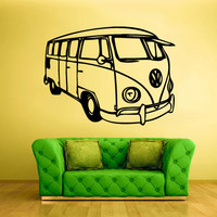 Wall Decal Vinyl Sticker Decals Car Auto Automobile Surf Bus (z1616)