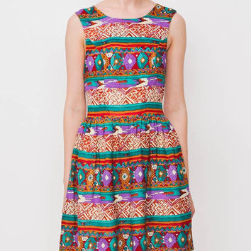 Mink Pink Woodstock Dress Multi