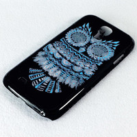 Retro OWL Samsung Galaxy S4 S IV Rubber Case and Hard Cover Case
