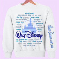 "Disney Movies ""Where Dreams Come True"" Crewneck"