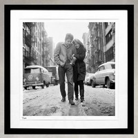 BOB DYLAN & SUZE ROTOLO FROM THE COLUMBIA RECORDS PHOTOGRAPHY ARCHIVES