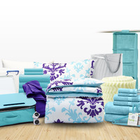 Twin XL Dorm Room Bedding & Organization, Doin' It Big Dorm Kit | Dormitup.com