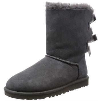 Ugg Women Boots W Bailey Bow Grey