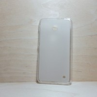 For Nokia Lumia 630 / 635 White Soft TPU translucent Color Case Protective Silicone Back Case Cover