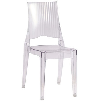 Fine Mod Imports Tolta Clear Acrylic Dining Side Chair FMI10104
