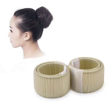 2pcs Hair Styling Hair Bun Maker