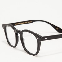 Garrett Leight Mark McNairy #3 Matte Black