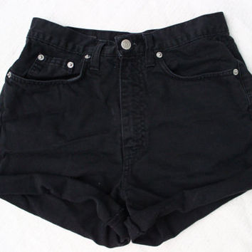 Banana Republic black high waisted shorts