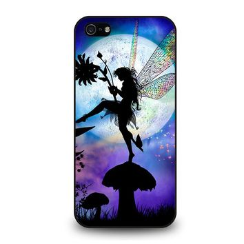 MOON DRAGONFLY FAIRY iPhone 5 / 5S / SE Case Cover