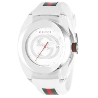 Mens' Gucci Extra Large Gucci Sync White Watch - Online Exclusive