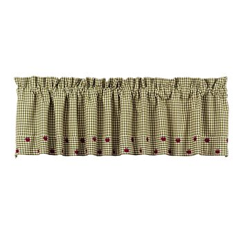 Apple Valley Green Valance