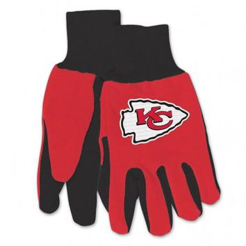 Kansas City Chiefs - Adult Two-Tone Sport Utility Gloves