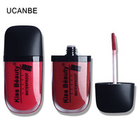 Brand New 24Hours Long Lasting Waterproof Lip Gloss 12 Colors Velvet Matte Liquid Lipstick Makeup Stain Kiss Proof Charming Lips